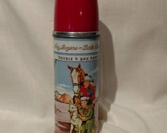 Roy Rogers and Dale Evans Vintage Thermos