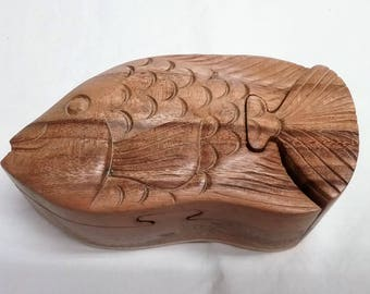 Angelfish, puzzle jewelry box (#bxanglfsh5)