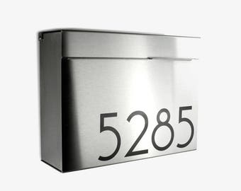 larger modern and mailbox stainless steel design modern mailbox wall mounted mailbox