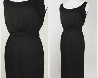 Clearance *** Fantastic Vintage Black Dress