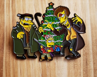 Bart X Home Alone Pin Badge