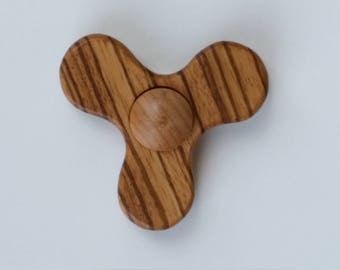 Zebra Wood Fidget Spinner