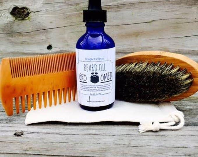 Beard Oil & Grooming Kit