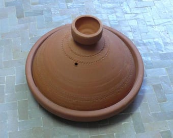 Moroccan Tajine for cooking unglazed Ø 25 cm for 2 persons