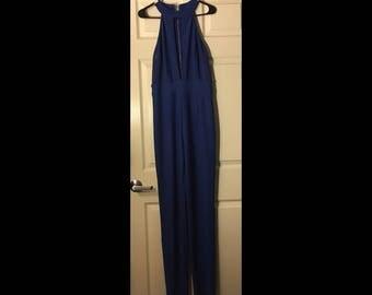 Blue Jumpsuit New Large