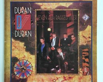 Vintage Duran Duran Seven and the Ragged Tiger Sheet Music