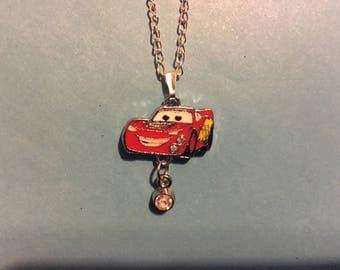 Cars Lightening McQueen Necklace   U47
