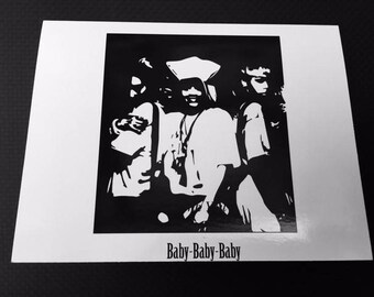TLC- Baby Baby Baby Card
