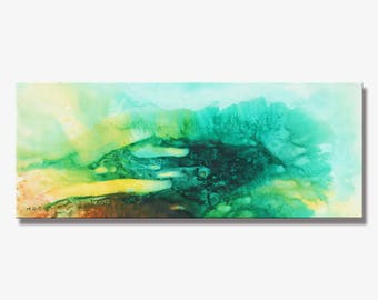 SPRING SERIES #5014, Artist-Signed, Abstract Giclee Wall Art Print, Modern Home Decor, Contemporary Art, Acrylic Painting
