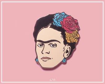 Frida Pin, Enamel Pin, Hard Enamel Pin, Feminist Pin, Lapel Pin, Pin badges, Frida Brooch, pin game, cute pin, gift for her