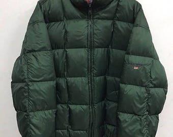 20% OFF Polo Sport Ralph Lauren Down Jacket Vintage Polo Sweater jacket Polo Sport Sportman Ralph Lauren jacket Polo Bear ski Polo 92 sz L