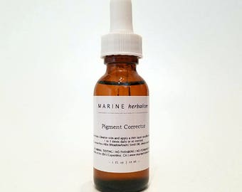 Pigment Corrector - lightens & fades dark spots, skin tone, acne scars, semi permanent makeup