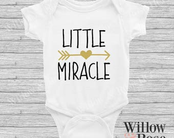 Little Miracle Baby Onesie In Sizes 0000-1
