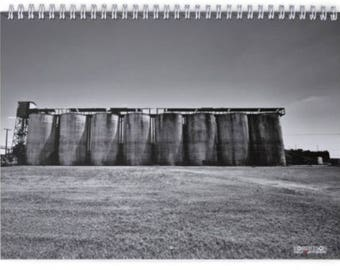 2018 Black & White Calendar