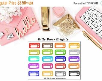 40% Off Sale Bills Due - Brights//EC//Hp classic, large mini