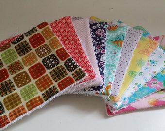 wipes X 10 - eco-friendly - women/girls - set no. 1