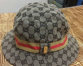 Gucci Monogram GG Hat Made in Italy S
