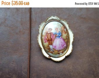 ON SALE Vintage Thomas Mott Pin - Estate Find