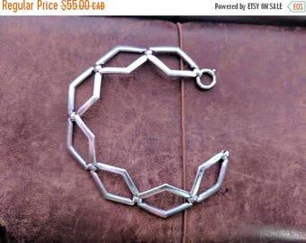ON SALE Vintage Silver Bracelet