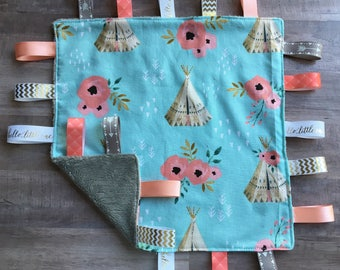 Sensory blanket//lovey