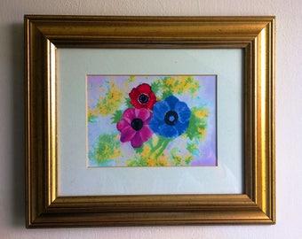Anenome original framed print