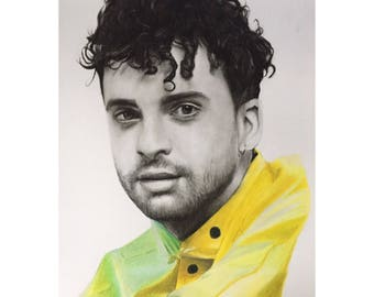 A3 Taylor York of Paramore Drawing