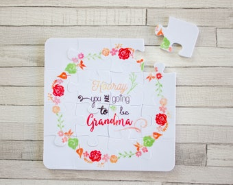 Puzzle premium - You are going to be grandma - Announcement of pregnancy