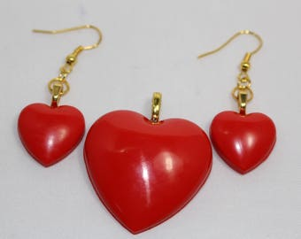 Funky Heart Shaped Jewelry Sets