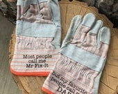 Work Gloves for Dad gifts daddy Papa Grandpa gifts for him dad gifts grandpa gifts Birthday gift Father's Day Gift