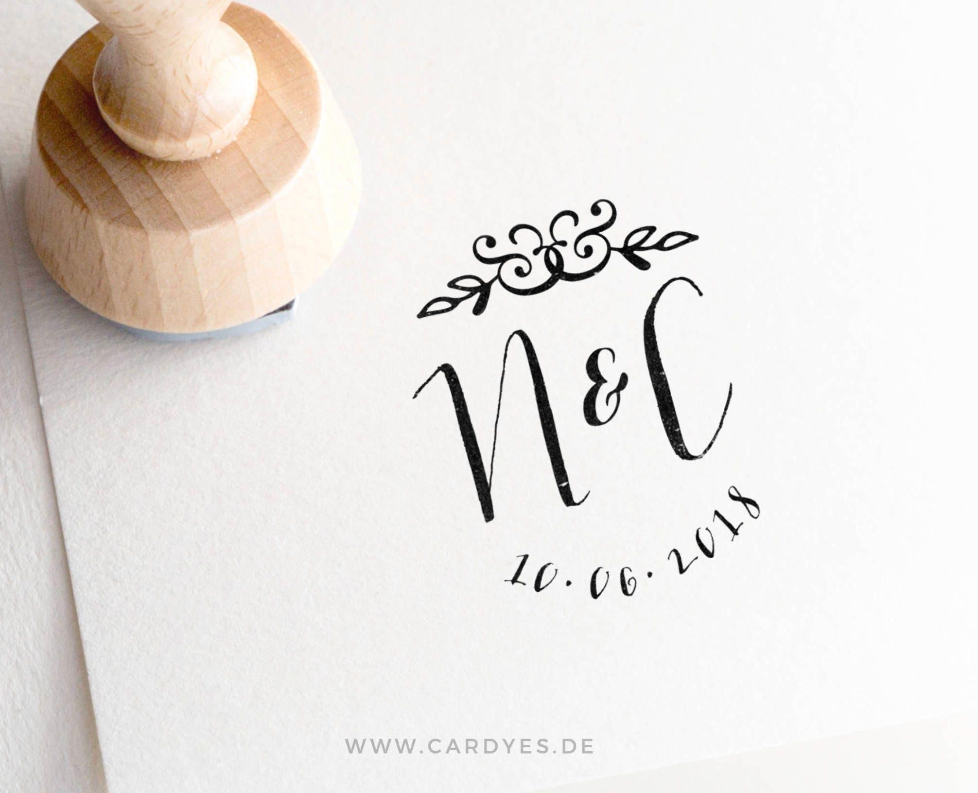 Wedding Monogram Personalized Design Logo DIY