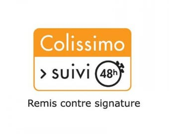 Optional COLISSIMO against SIGNATURE only for FRANCE and DOM
