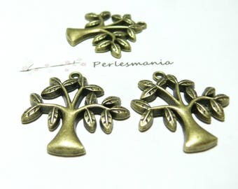 10 charms bronze olive No2D1429
