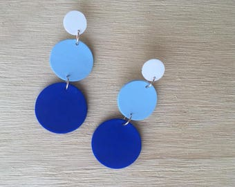 Lucy Blue Dangles