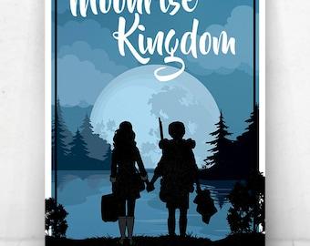 Moonrise Kingdom - Illustration [Moonrise Kingdom Movie Poster / Moonrise Kingdom / Wes Anderson]