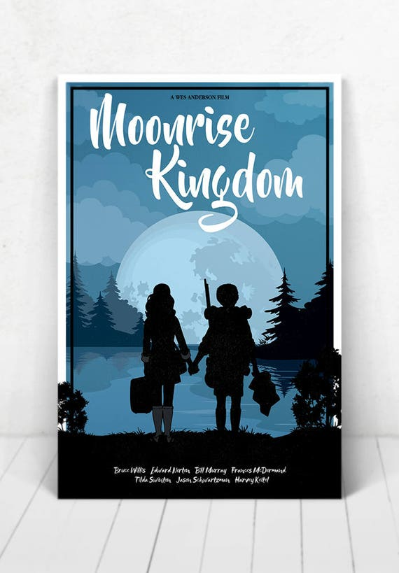 Moonrise Kingdom - Illustration [Moonrise Kingdom Movie Poster / Moonrise Kingdom / Wes Anderson]