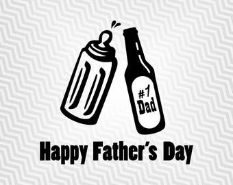 Happy Fathers Day Svg, T-shirt Graphic Svg, Cutout, Vector art, Cricut, Silhouette Cameo, die cut, Digital Cut, Print Files, Svg Files