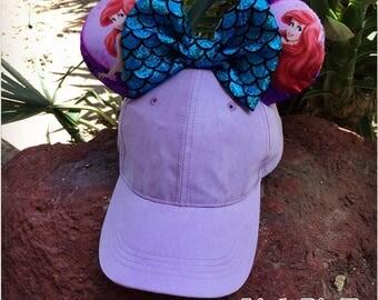 Princess Ariel inspired Disney Ears Hat