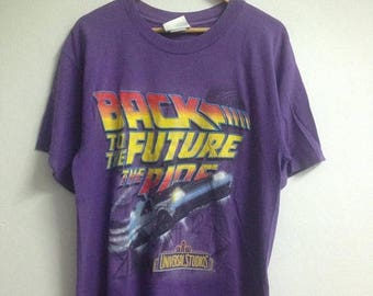 10% Off Vintage 1996 Back To The Future Movie Shirt