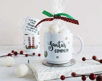 Elf Christmas Personalised Mug - Festive Mug - Buddy The Elf Quotes