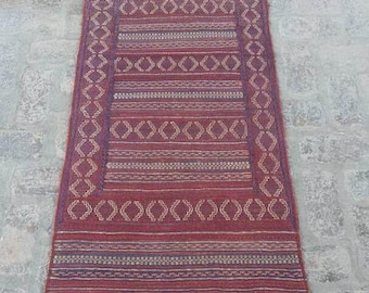 25% OFF SUMMERSALE Gorgeous vintage afghan tribal qalaino kilim runner rug >>> DISCOUNTED Price