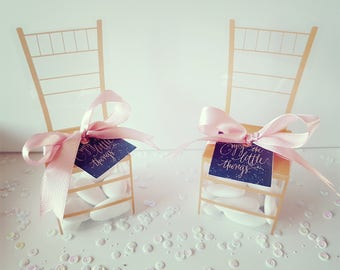Chiavari Chair Wedding Favors