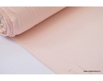 Fabric super soft Jersey viscose bamboo colors (powder pink)