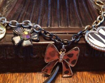 Vintage Betsey Johnson Charm Bracelet