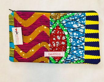 Purse - African - Thema Pouch -  Color celebration
