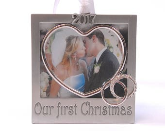 Our first Christmas 2017 3*3 Photo Frame