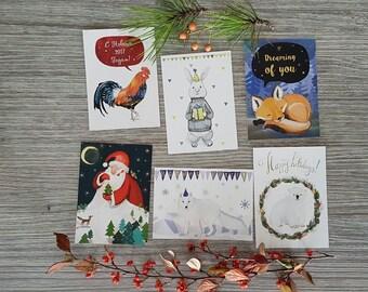 POSTCARDS, greeting cards, artwork, greeting card