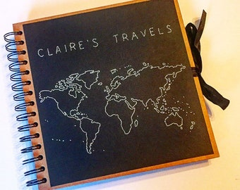 The 'Whole Wide World' Personalised Travel Journal