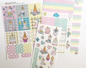 Unicorn Magic | Mini Happy Planner| Sticker Kit