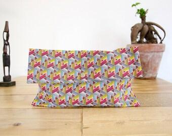 Ethnic cotton bag / geometric