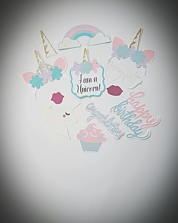 Unicorn Centerpiece for Birthdays, Sweet 16, weddings, showers ...